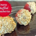 S'more stuffed strawberry recipe is easy and a great treat for Memorial Day or any other gathering