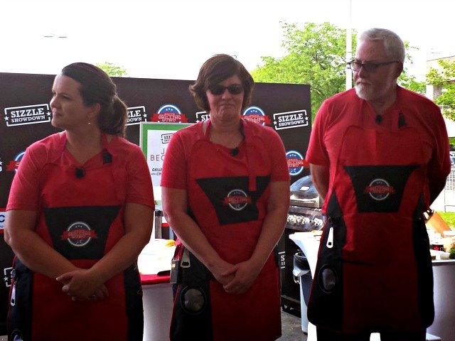Grilling Guru contestants awaiting the grilling guru results
