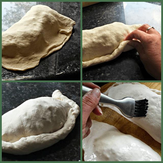 How to make a homemade calzones
