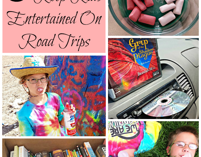 5 great (and cheap!) ways to keep kids entertained on road trips #shop #JuicyFruitFunSide