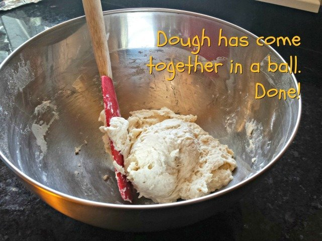 Mixing bread dough is easier than you think