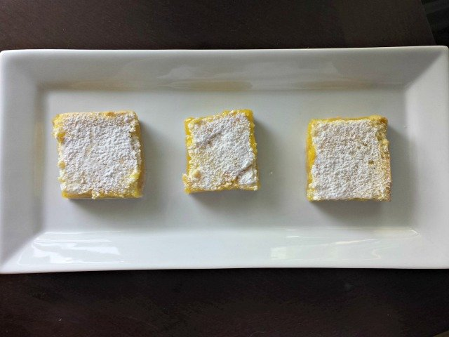 Perfect amazing lemon squares