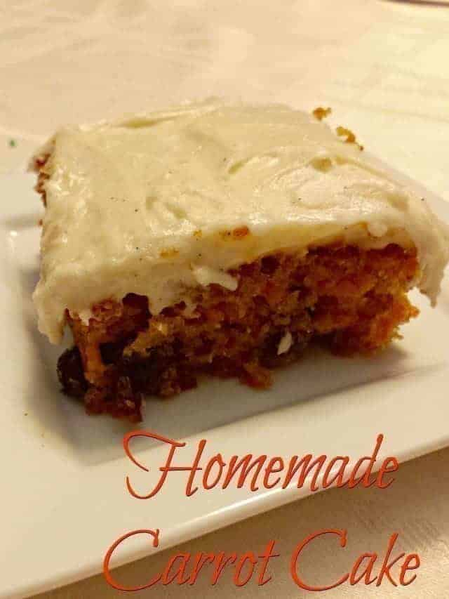 Homemade Carrot Cake Recipe Honest And Truly