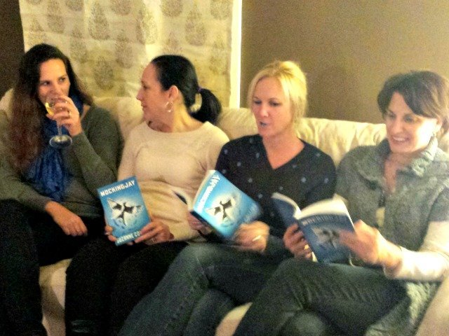 Discussing Mockingjay at book club