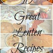 10 Great Lenten Recipes