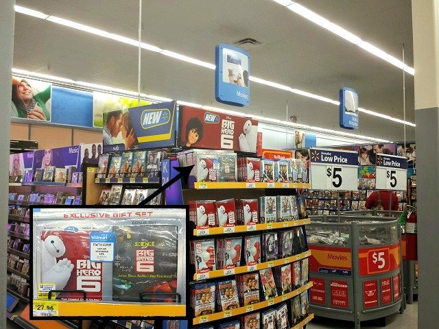Big Hero 6 at Walmart