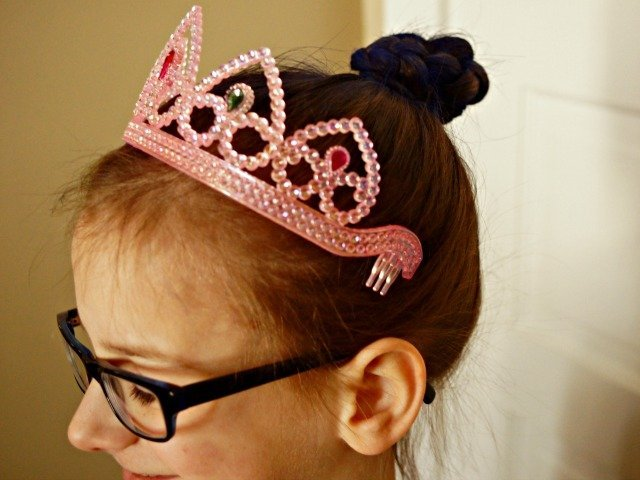 Disney spa party updos