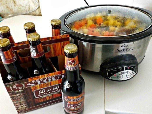 Use stout for your crock pot corned beef