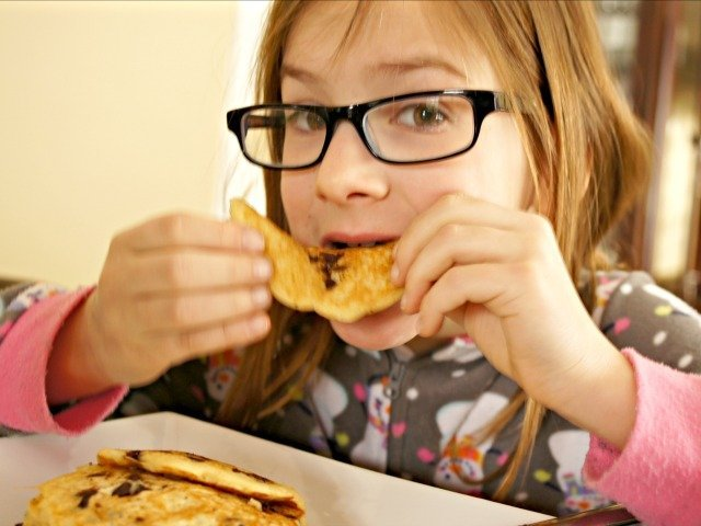 Baking with kids results in a new pancake recipe