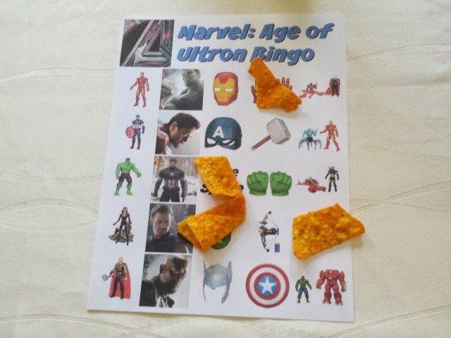 Avengers Bingo game