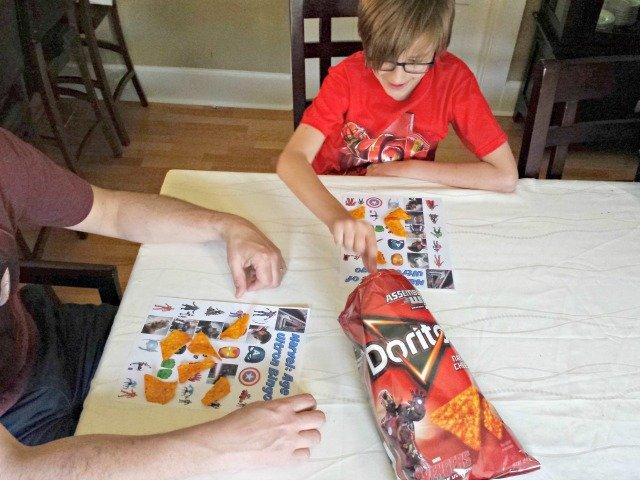Playing avengers bingo
