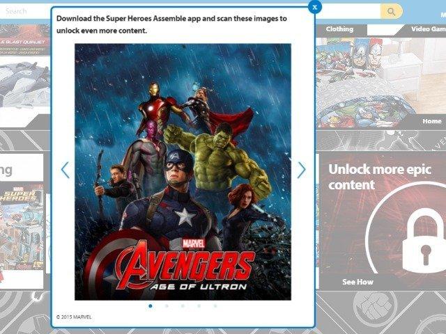 Unlocking Super Hero content