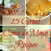 Looking for some good Mexican recipes for Cinco de Mayo? Come celebrate with these 15 allergy friendly recipes from appetizer to dessert