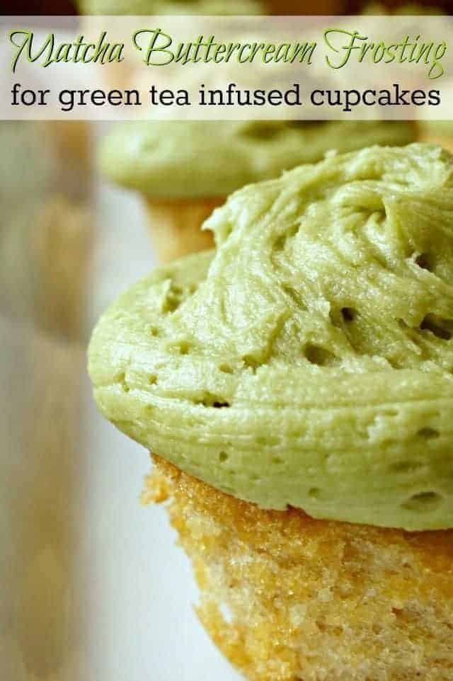 Amazing green tea cupcakes with matcha buttercream frosting recipe