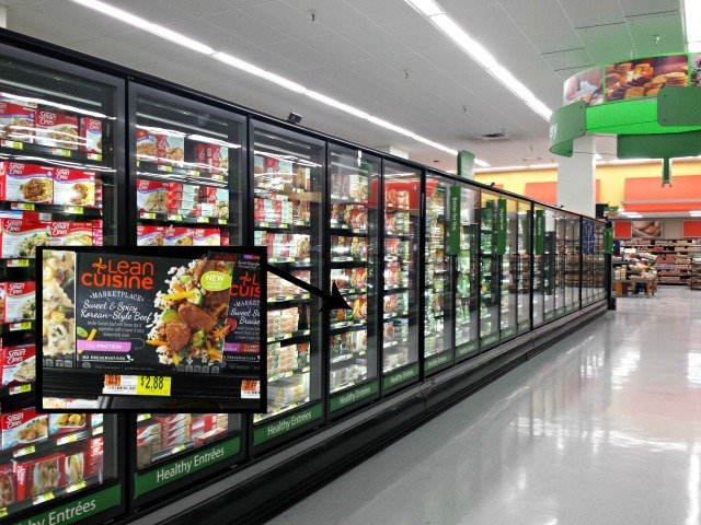 Finding Lean Cuisine Marketplace items at Walmart