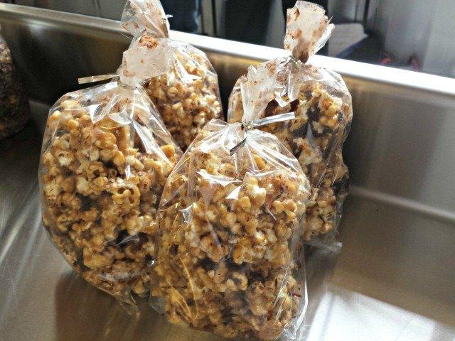 Food swap ideas - caramel popcorn