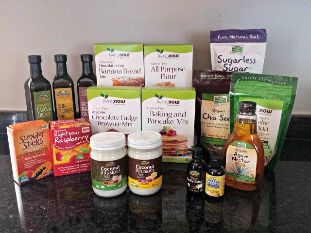 NOW Foods allergen friendly goodies giveaway bundle
