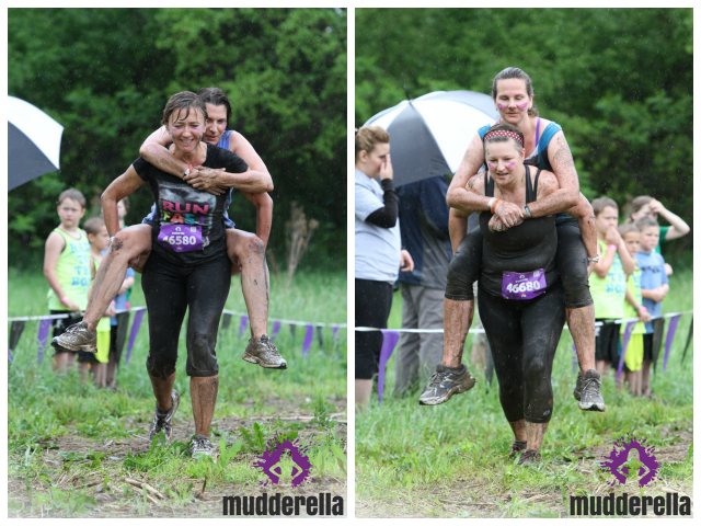 I've Got Your Back obstacle at Mudderella