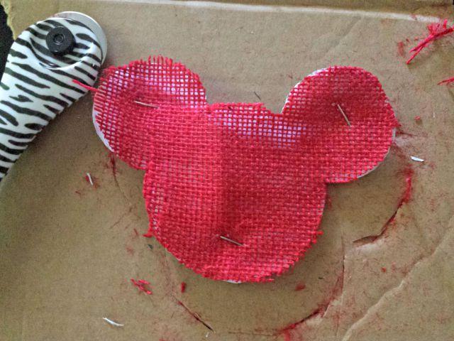 First Mickey head