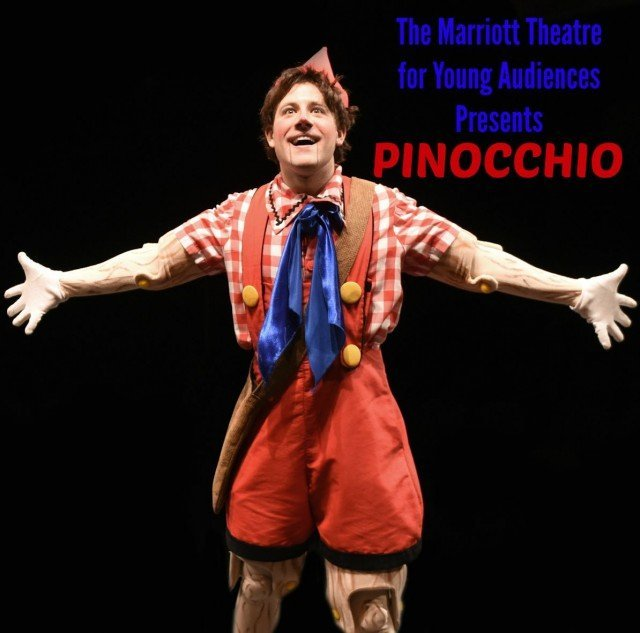 Seeing Pinocchio at the Marriott Theatre for Young Audiences is a wonderful interpretation of a classic story