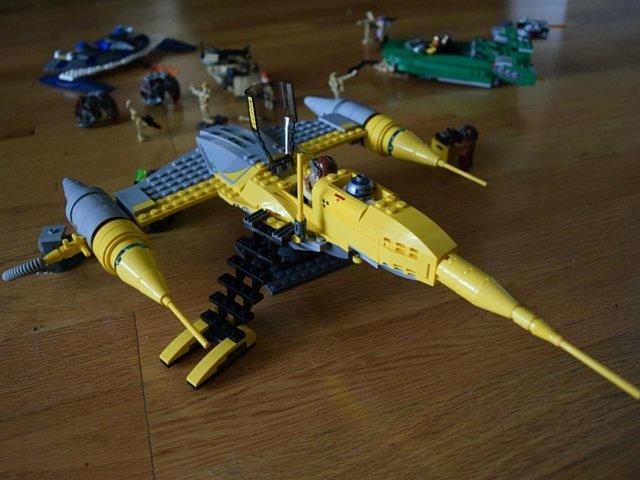 Imaginative LEGO Star Wars scene