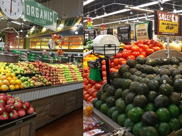 Tons of fresh fruits and veggies at Fresh Thyme Market