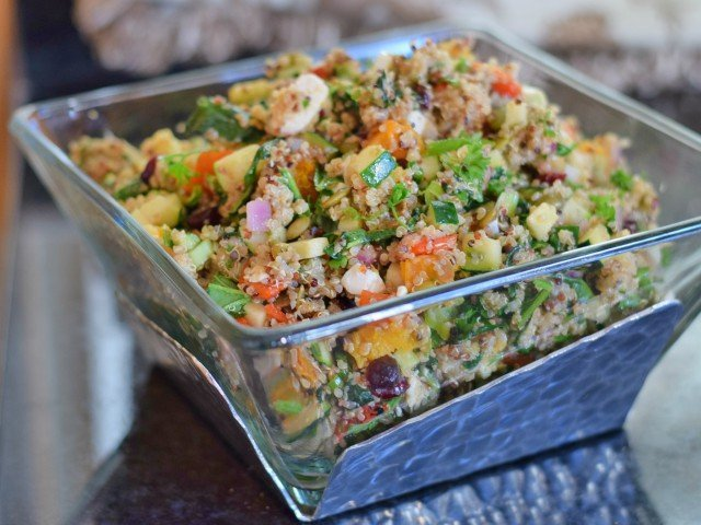Amazing harvest quinoa salad