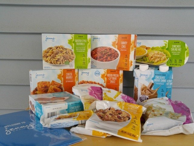 Items in the 3 day Jenny Craig Weight Loss starter kit