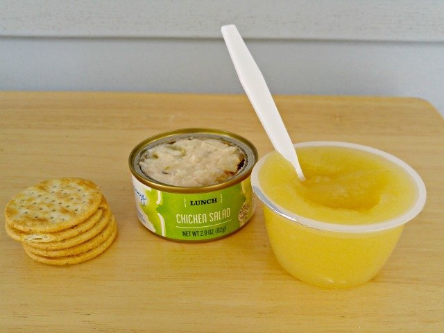 Lunch sample of Jenny Craig Weight Loss Starter Kit