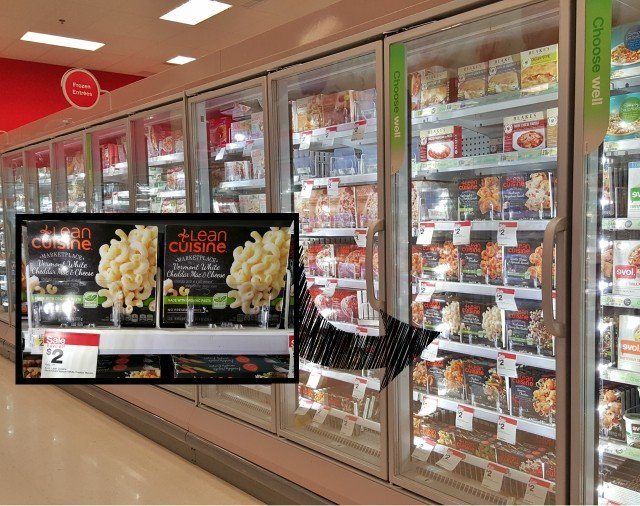 Finding Lean Cuisine at Target for quick lunch ideas