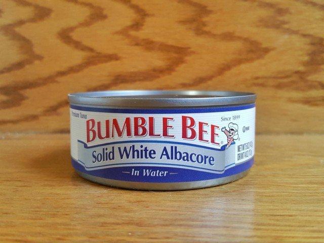 Bumblebee albacore tuna can