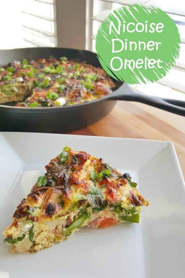 Nicoise Dinner Omelet