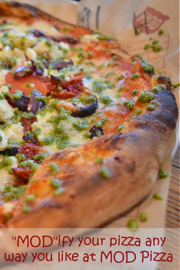 MOD Pizza means you make it however YOU like it. Check out the review of the vegan and dairy free options, as well as gluten free pizzas you can make to suit your mood.
