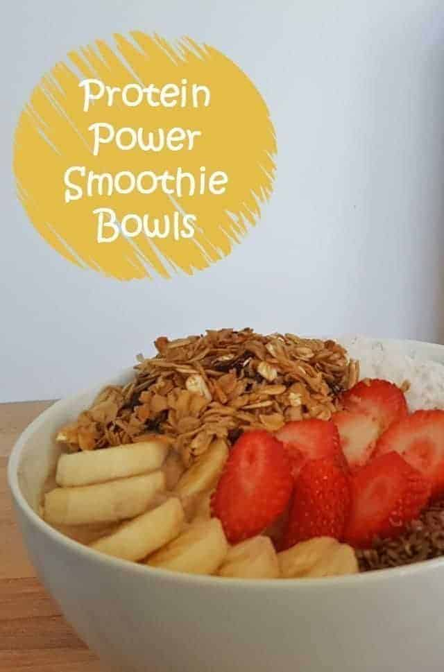 Protein Power Smoothie Bowls Recipe
