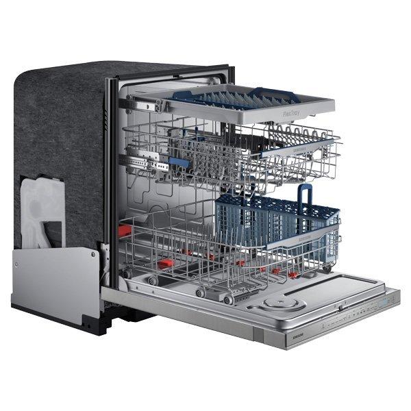Samsung WaterWall Dishwasher with third rack