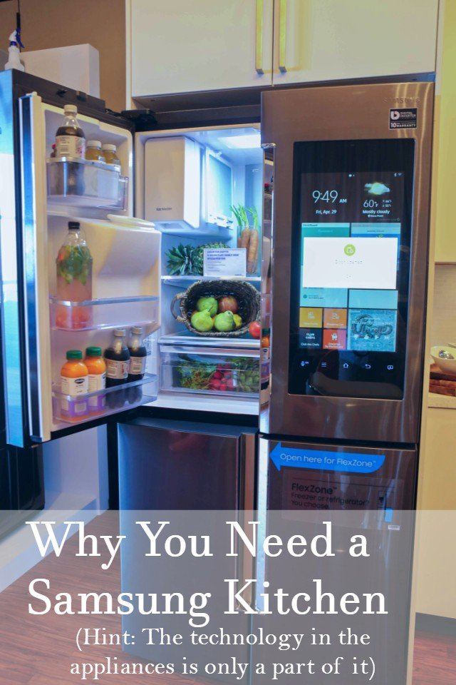 Why You Want A Smart Kitchen Samsung Appliances Make Life Easier Honest And Truly