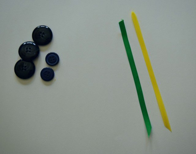 Cut ribbon for water tracker