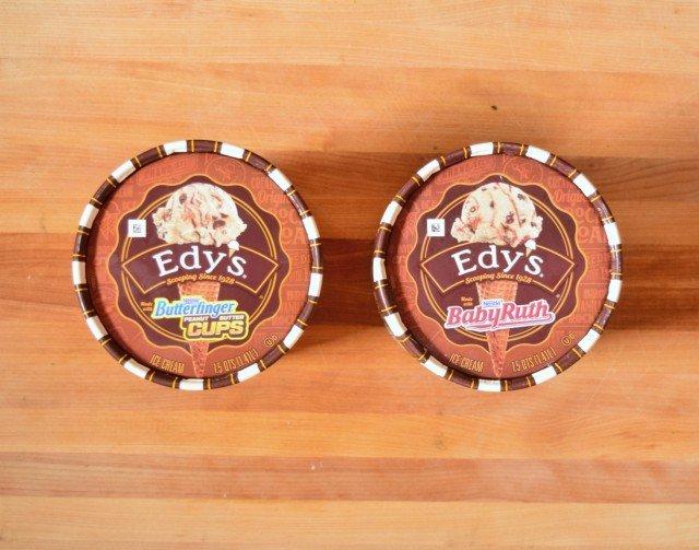 EDY'S candy bar ice cream flavors