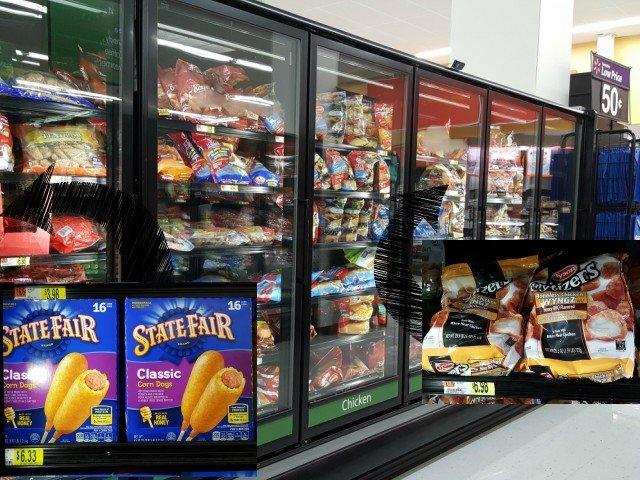 Tyson protein options at Walmart