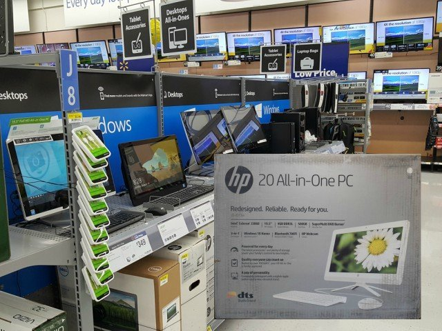 HP All-in-One for back to school at Walmart