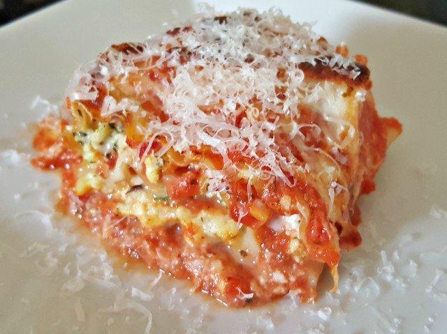 3 Cheese Lasagna Roll Ups