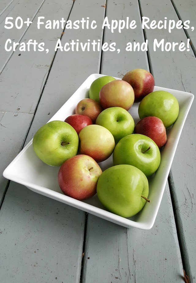 More than 50 of the best apple recipes,activities, crafts and more, all in one place. The perfect fall roundup!
