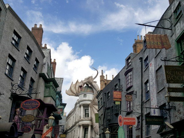 Early admission to the Wizarding World of Harry Potter when you stay onsite