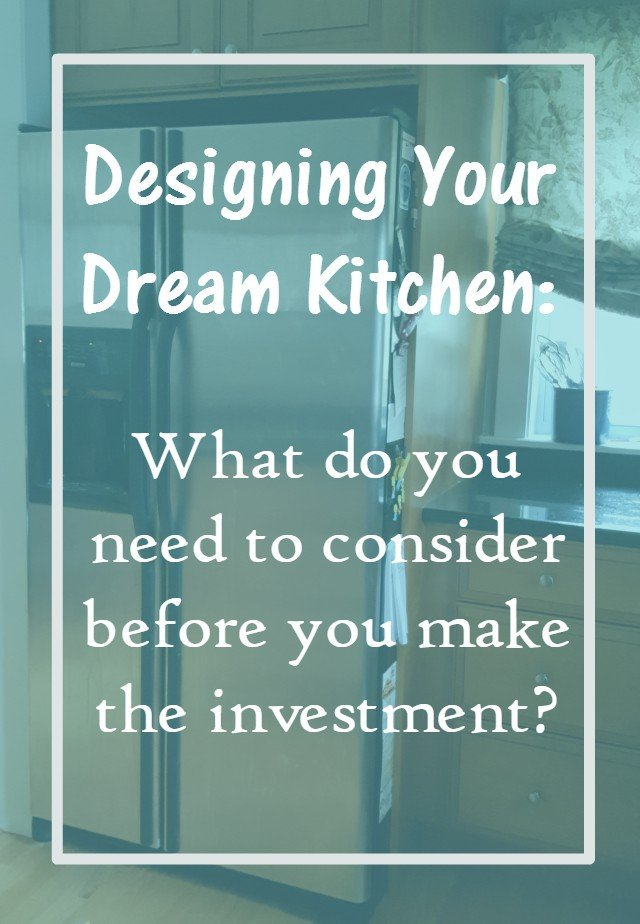 Your Dream Kitchen: What to consider before you begin remodeling your kitchen. Resources and ideas of changes to consider