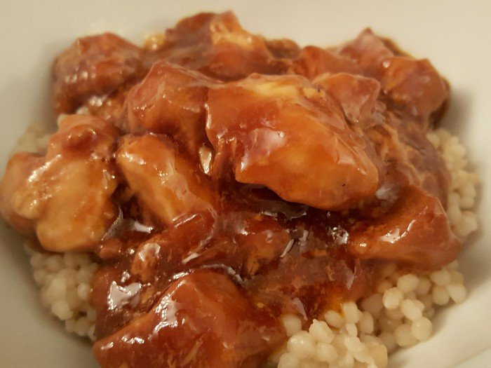 Honey bourbon instant pot chicken recipe