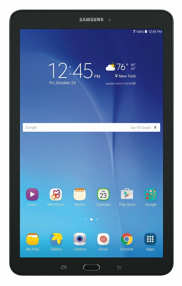 Samsung Tab E at Walmart for your new tech purchases