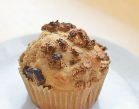 Enjoy a healthier breakfast with this homemade apple cinnamon muffin recipe