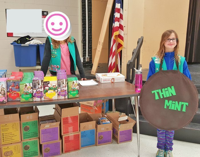 Use costumes to increase Girl Scout cookie booth sales
