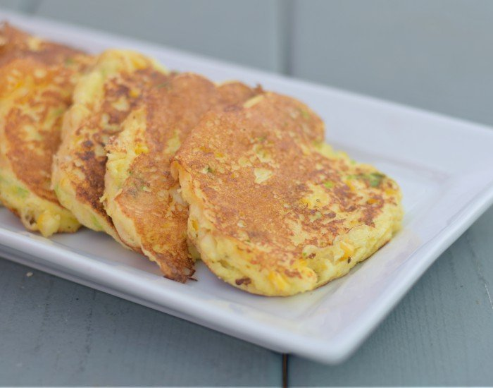 Easy delicious gluten free corn fritters homemade