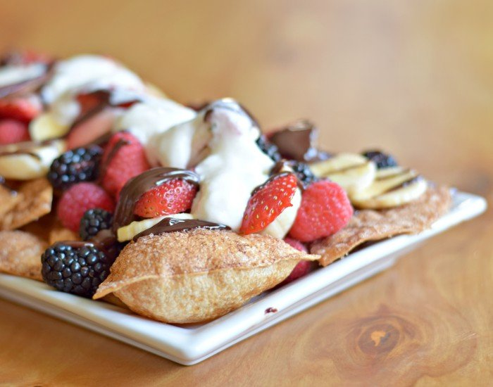 Make easy dessert with these homemade dessert nachos